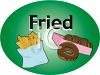 Fried Food-French Fries and Donuts clipart