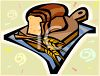 Fresh Baked Loaf of Bread clipart