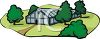 Commercial Barn or Greenhouse clipart