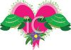 Whimsical Turtles in Love clipart