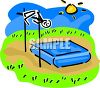 Stick Person High Jumping clipart