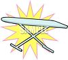 Ironing Board Icon clipart