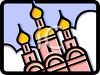 Icon for a Russian Mosque clipart