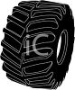 Heavy Tread Beefy Tire clipart