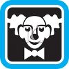 Clown Face Icon clipart