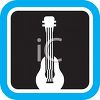 Lute or Guitar Icon clipart