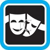 Comedy and Tragedy Masks Icon clipart