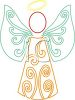 Winged Angel Symbol clipart
