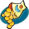 Bag of Potato Crisps clipart
