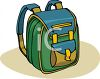 School Bag Backpack clipart