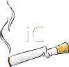 Smashed Cigarette clipart