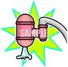 Water Filter on a Faucet clipart