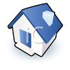 Cute House Icon clipart