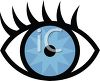 Cartoon Eye Icon clipart