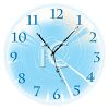 Glossy Button of a Clock Face clipart