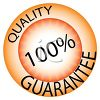 Glossy Button for Quality Guarantee clipart