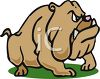 Breed of Dog-Bulldog clipart