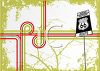 Route 66 Travel Background clipart