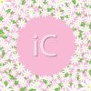 Daisies on a Pink Frame Background clipart