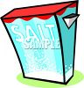 Box of Salt clipart
