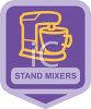 Small Appliance Icon-Stand Mixer clipart