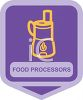 Small Appliance Icon-Food Processor clipart