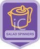 Small Appliance Icon-Salad Spinner clipart