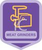 Small Appliance Icon-Meat Grinder clipart