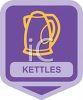 Small Appliance Icon-Hot Water Kettle clipart
