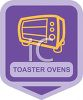 Small Appliance Icon-Glass Front Toaster Oven clipart