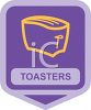 Small Appliance Icon-Home Kitchen Toaster clipart