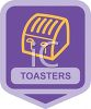 Small Appliance Icon-Commercial Toaster clipart