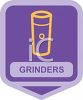 Small Appliance Icon-Coffee Bean Grinder clipart