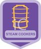 Small Appliance Icon-Steam Cooker clipart