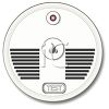 Test Button on a Smoke Detector/Fire Alarm clipart