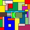 Abstract Background of Color Squares clipart