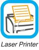 Business Icon-Laser Printer clipart