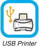 Business Icon-USB Printer clipart