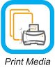 Business Icon-Print Media clipart