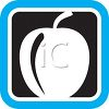 Produce Food Icon for an Apple clipart