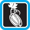 Produce Food Icon for a Persimmon clipart