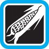 Produce Food Icon for an Ear of Corn clipart