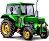 Realistic Tractor clipart