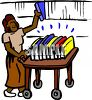 African American Librarian clipart