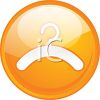 Clothes Hanger Icon clipart