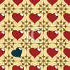 One of a Kind Heart Background clipart