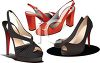 Women's Shoes clipart