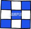 Checkered Quilt clipart