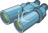 Cartoon Binoculars clipart