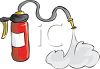 Cartoon Fire Extinguisher clipart